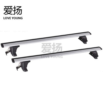 Roof top rack for car Aiyang general car automobile roof luggage rack bicycle frame bar rack travel business car modification