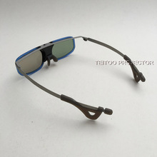 2 pcs/lot Brand New Shutter 3D Glass For Cinema / Active DLP Link 3D Glasses Support DLP Projector Side by Side