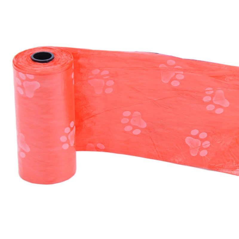 נסיעות לחיות מחמד פסולת תיק פלסטיק כלב קקי שקיות כלבים חתולים פסולת לנקות אשפה שקית מילוי תיק פלסטיק מתכלה כלבלב