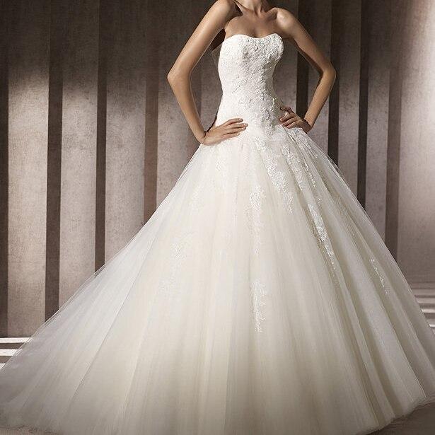 Train wedding dress 2012 star style low waist vintage lace tube ...