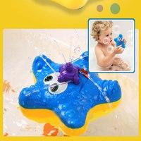 طفل حمام اللعب للأولاد المياه طفل الاستحمام لعب لعبة للأطفال نجم الإلكترونية مياه الحمام مضحك لعيد الميلاد هدية