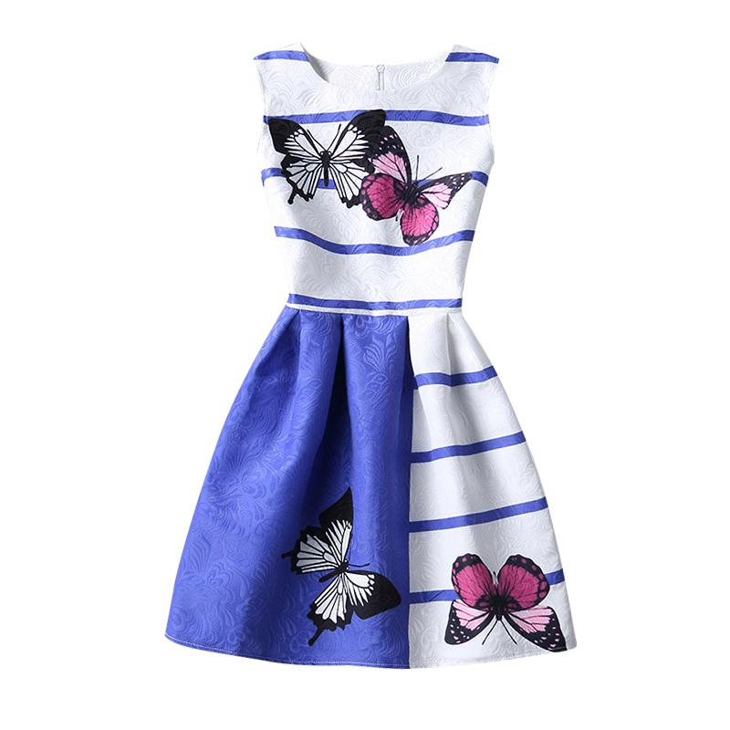 teen girl vestido de flores muchacha de los nios escuela vestido de fiesta impreso vestidos para