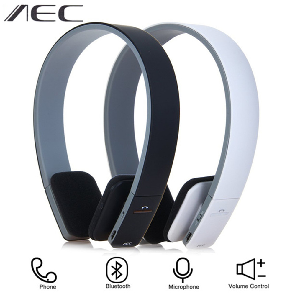 Original AEC BQ-618 Wireless Bluetooth Headphone Built-in Microphones Noise Cancelling Headsets Stereo Sound Hifi Earphones