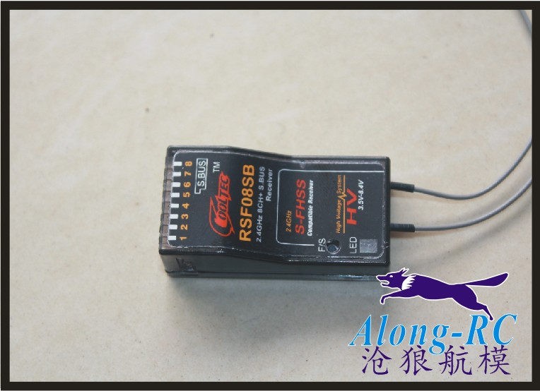 free ship RC airplane   part   2.4G  6 channel  RSF08SB  8CH channel   recivers  Compatible FUTABA S-FHSS SBUS  Receiver free ship rc airplane part 2 4g 6 channel r6008hv 8ch channel r7008hv recivers compatible futaba fasst receiver