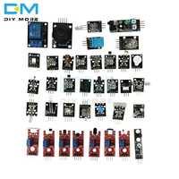 37 Sensor Ultimate 37 in 1 Sensor Modules Kit for Arduino Starters keyes MCU Education User DIY Kits Diy Electronic
