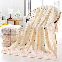 2016 Gift Luxury 1PCS 70 140cm Super Soft 100 Cotton Dobby Beach Bath Towel Brand Home