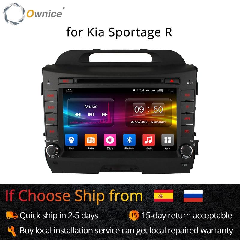 Lecteur dvd Ownice C500 Android 6.0 Octa 8 Core pour KIA sportage r 2011-2015 gps navi 2 din wifi 4G 2 GB RAM 32 GB ROM