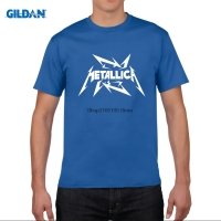 GILDAN METALLICA Hard Metal Punk Rock Printed T Shirt Men Women Tops Brand Clothing Short Sleeve