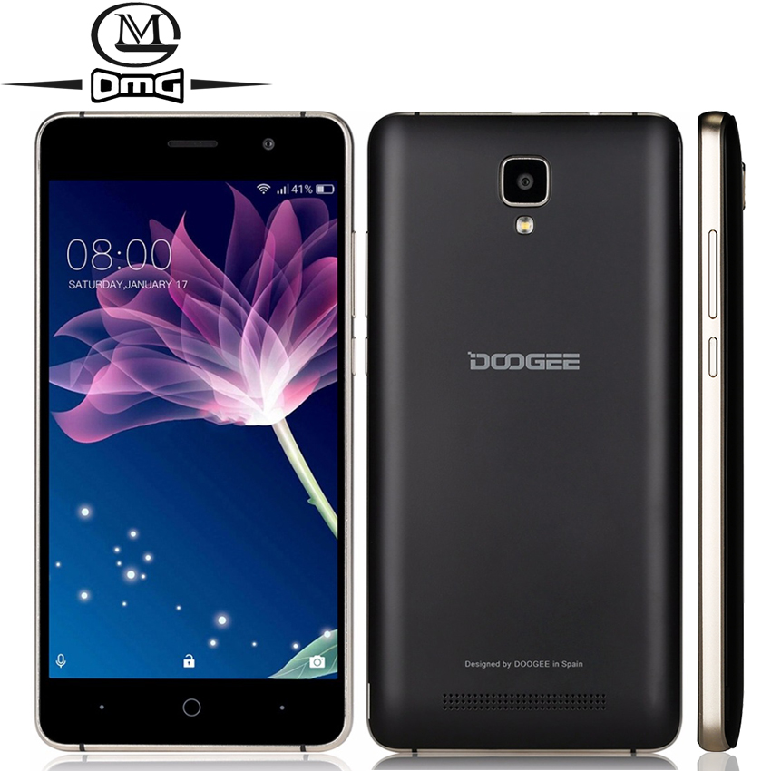 DOOGEE X10 Android 6 0 3360mAh MTK6570 Dual Core 8GB ROM 5 0 inch Smartphone WCDMA