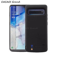 цены на for Samsung S10 5G Charger Case 6500mAh Power Bank Cover External Charging Case for Samsung Galaxy S10 5G Battery Case 5.8 inch  в интернет-магазинах