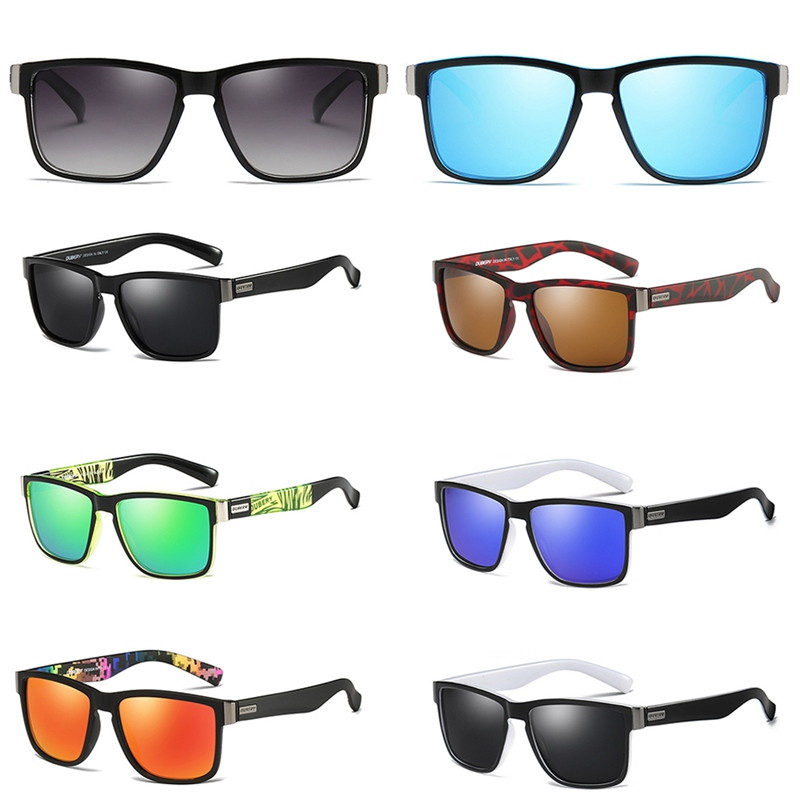 Brand Design Polarized Sunglasses Men Driver Shades Male Vintage Sun Glasses For Men Spuare Mirror Summer Oculos