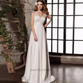 Vestido de Noiva 2017 Cheap Empire Maternity Wedding Dress Plus Size Wedding Gowns for Pregnant Women Lace Bride Dresses Chiffon
