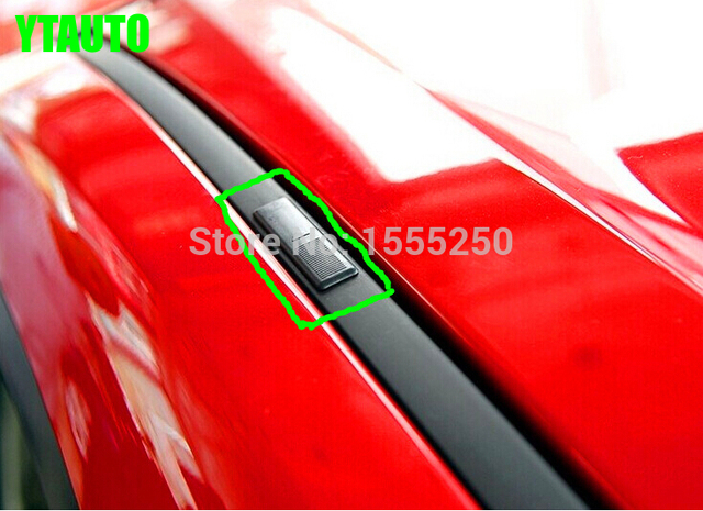 Auto roof seal covers for Mazda 3 Mazda 6 ,4pcs car styling sticker