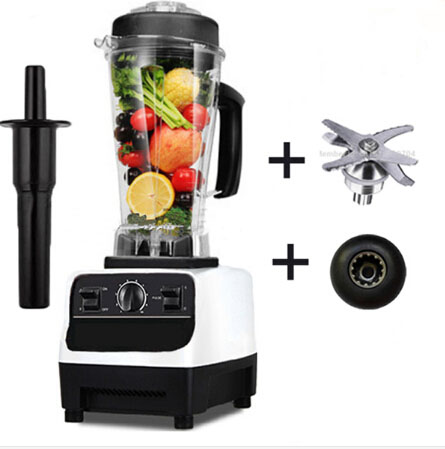 Commercial Blender Mixer Juicer BPA Free 3HP 2200W High Power Food Processor Ice Smoothie Bar Fruit Electric Blender