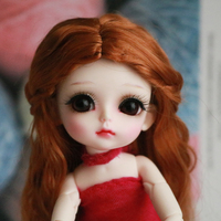1/8 BJD Doll BJD/SD LOVELY Happy Resin Doll With Glass Eyes For Baby Girl Birthday Gift Present