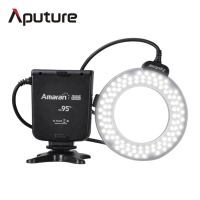 Aputure HC100 ring light CRI 95+ Amaran Halo LED Macro Ring Flash lamp photo light photography photographic lighting For 5/6/7D