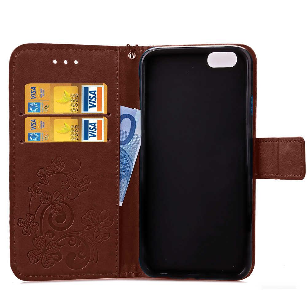 """Принципиально книжки с изображением клевера Стиль бумажник чехол для samsung Galaxy Grand Prime G530 G530H G5308W G531 G531H G5309W G5306W чехол для телефона с принтом"""""""