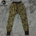 KANYE high quality mens bottom jogger pants camo camouflage hippie work hip hop trousers swag sweatpants brand clothing