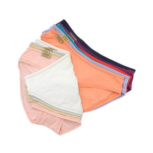 BllooBeell Solid Modal Sexy Women's Panties Underwear Every day Briefs Low Rise Bikini Panties Candy Color Lingerie SizeM/L
