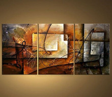 3 Panel Hand Painted Paintings Handmade Colorful Graffiti Art Oil Painting Modern Abstract Canvas Wall Pictures Home Decor