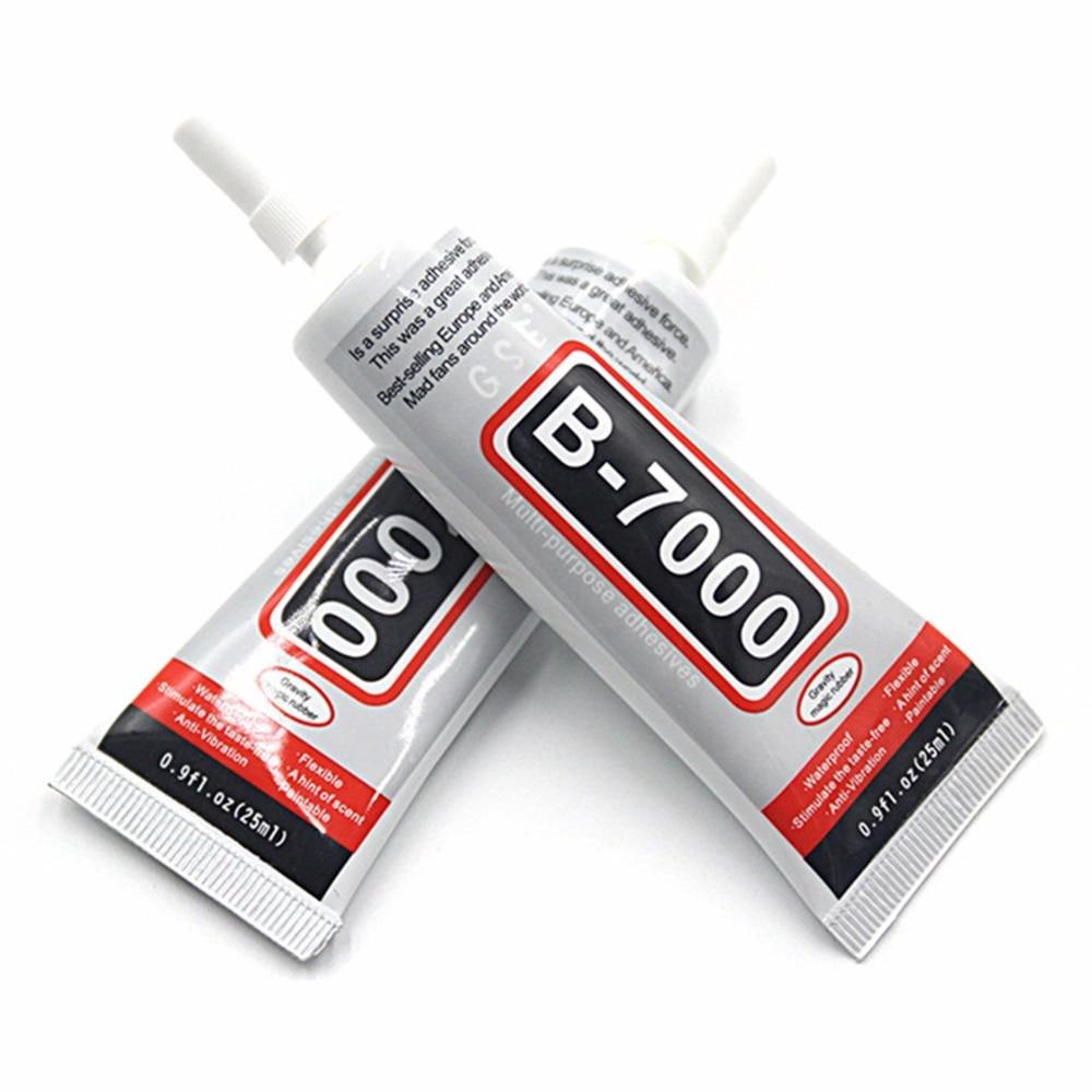 1 шт. B7000 25 мл стразы клей эпоксидная смола прозрачный полужидкий супер клей герметик для ювелирных изделий стекло кожа пластик