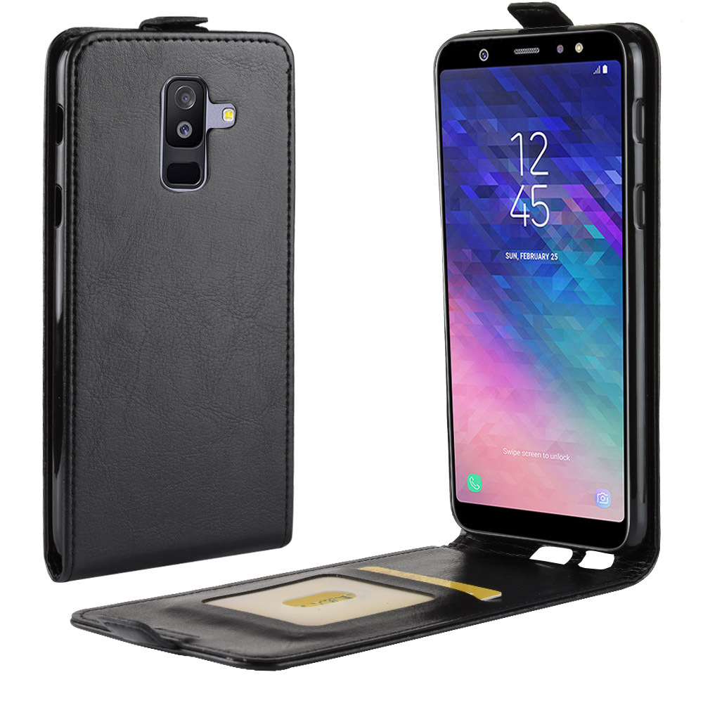 Leather Wallet <font><b>Case</b></font> For <font><b>Samsung</b></font> Galaxy S9 S8 <font><b>Note</b></font> 9 8 A6 A8 Plus A9 A7 2018 C10 C7 Xcover <font><b>4</b></font> <font><b>Flip</b></font> Phone Bag <font><b>Case</b></font> Back Cover Shell image