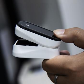BOXYM Medical Finger Pulse Oximeter OLED Touch Full Screen blood oxygen Heart Rate Monitor Oximetro de dedo Saturometro Monitor 4