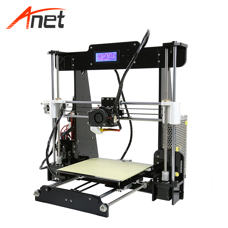 Anet A8 Most Popular Stampante 3d Alta Precisione Upgraded Two Versions Home 3d Printer Aluminum Hotbed