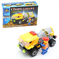 Kazi 69pcs/set Churn Car Blender City Engineering Construction Building Block Kids Toys Compatible with Lepin Gift