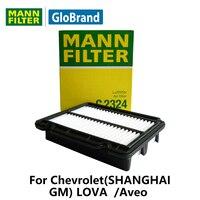 Mannfilter車エアフィルターc2324用シボレー(上海gm) lova 1.2l/1.4l/1.6l/aveo 1.2l 1.4l 1.6l自動車部