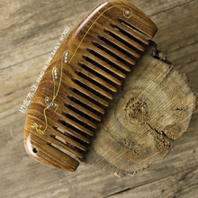 Anti-static Head Sandalwood Wooden Combs Popular Natural Health Care Hair Comb Hairbrush With Handle Massager natural shen guibao wood buffalo horn exquisite thick long handle wooden comb coarse teeth hair massage no static combs