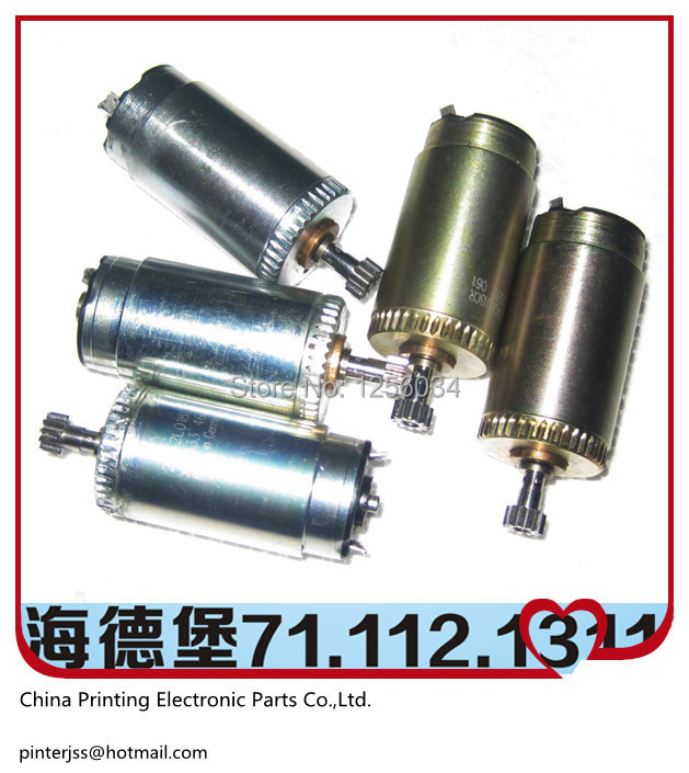 5 pieces free shipping 71.112.1311 heidelberg motor, original small motor for printing