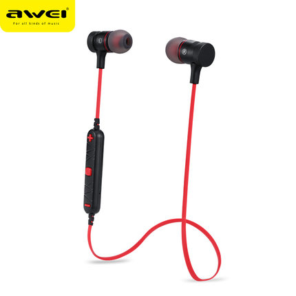 Awei A920BL Wireless sports headphone stereo earphones, Noise Reduction bluetooth sport headset with mic.
