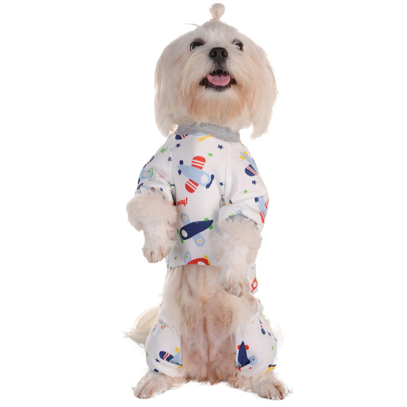 Pet Products Dog Coat Newest Winter Soft Warm Pet Dog Puppy Winter Clothes Snowflake Deer Printed Hoodies Jumpsuit Spare No Cost At Any Cost Home & Garden
