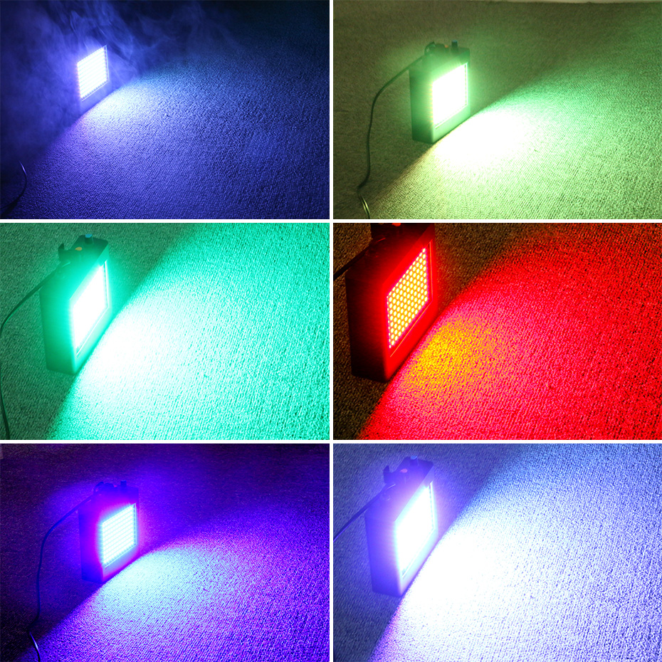 Image 5 - ALIEN Remote 108 LED RGB Strobe Stage Lighting Effect Sound Activated Club Disco Party DJ Holiday With Variable Speed ControlStage Lighting Effect   -