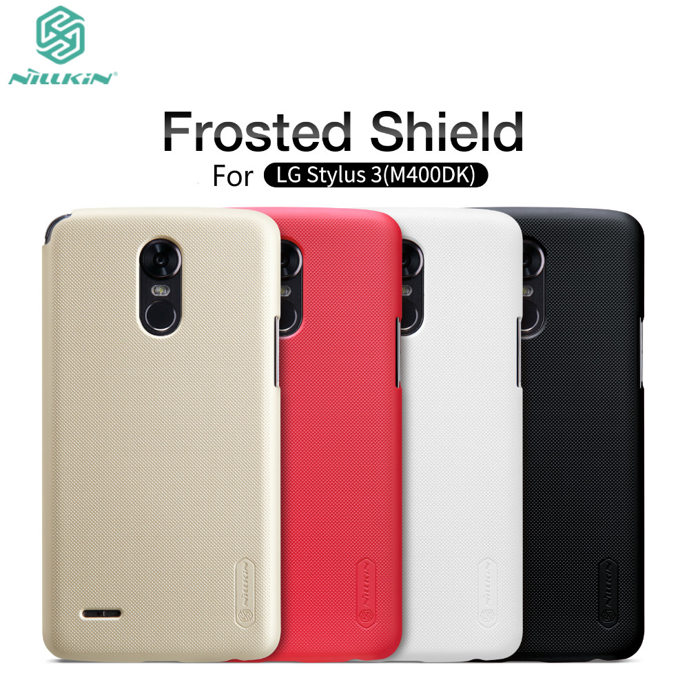 Case For LG Stylus 3 Cover Case 5 7 inch NILLKIN Frosted Shield PC Plastic Back