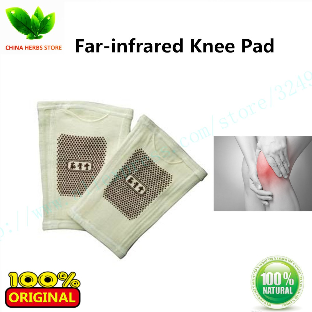 1pair(2pcs) Far-infrared Knee Pad Bangdeli Support knee protect sports safety Kneepad Rheumatoid Arthritis knee care heating pad комплект постельного белья hobby home collection 2 х сп ранфорс almeda персиковый 1501000616