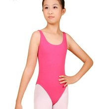 Kids Dance Gymnastics Skirt Dress Stretch Bodysuit Girls Top T shirt Leotard(China)