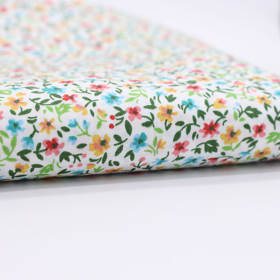 Buy print plian cotton fabric patchwork for Cloth material for sewing