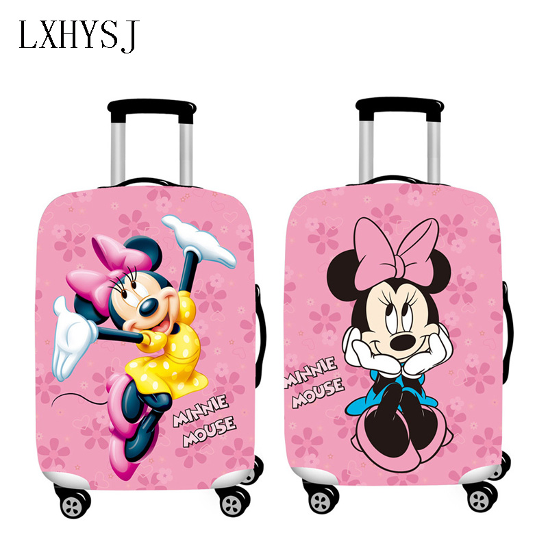 The New Luggage Cover Elastic Baggage Cover Luggage Protective Covers Suitable For 18-32 Inch Suitcase CaseTravel Accessories