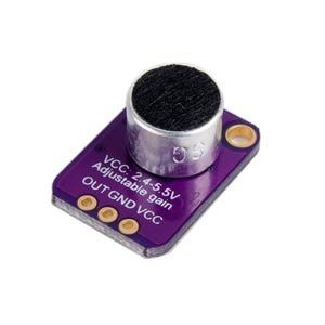 Image 4 - 5 Pcs GY MAX4466 Electret Microphone Khuếch Đại MAX4466 Breakout Board với Có Thể Điều Chỉnh Tăng đối với Arduino