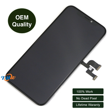 100% Original LCD Screen Assembly Touch Screen Digitizer for iPhone X Free Shipping By DHL lovain 5pcs original for lenovo xiaoxin tb x804n x804 tb x804f 10 1 lcd display touch screen digitizer panel assembly dhl free