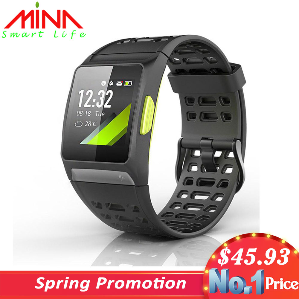 Iwownfit Smart-Watch Ecg-Detection-Hrv Built-In Sports-Modes Dynamic Analysis Color-Screen
