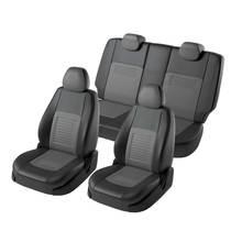 Для Hyundai Tucson 2015-2019 специальные чехлы для сидений полный комплект модель Турин эко-кожа