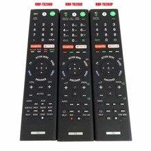 משמש מקורי אמיתי RMF TX200P RMF TX200E RMF TX200U קול שלט רחוק עבור Sony LCD LED חכם טלוויזיה בקר