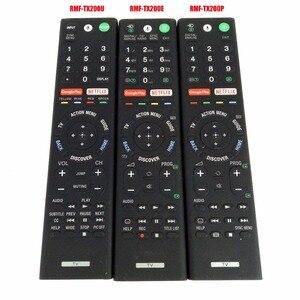 Image 1 - Б/у оригинальный подлинный RMF TX200P RMF TX200E RMF TX200U голосовой пульт дистанционного управления Управление для sony ЖК дисплей светодиодный смарт ТВ Управление;