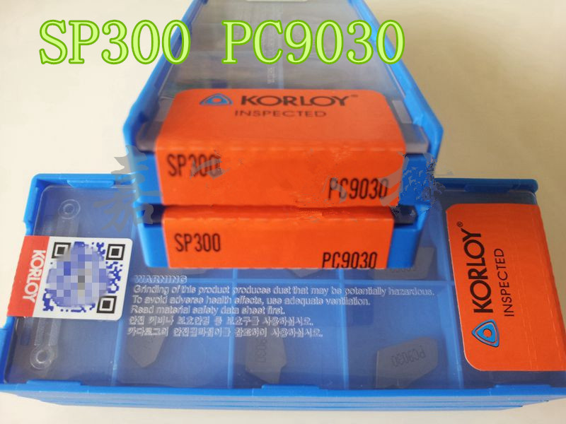10pcs KORLOY SP300 PC9030 Carbide Inserts New