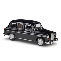 1:24 Static Model Classic Vintage Austin FX4 London Taxi Xk180 Alloy Car Model Toys Diecast for Gifts Collection