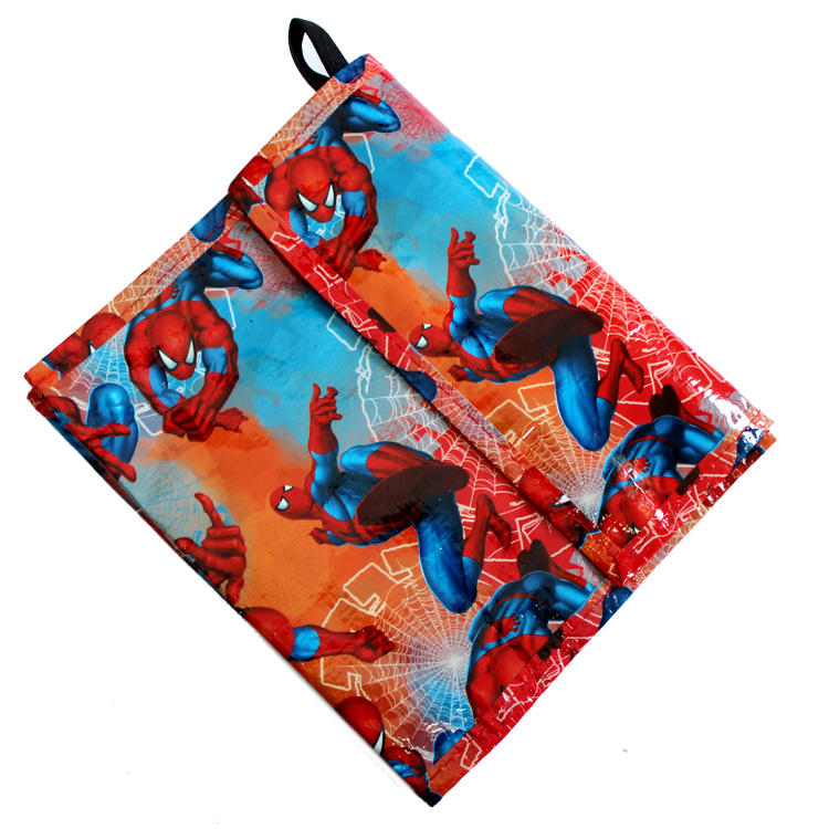 (10 Pcs/Lot) Cartoon Spiderman Outdoor Travel Multifunctional Organizer  Storage Bag(China