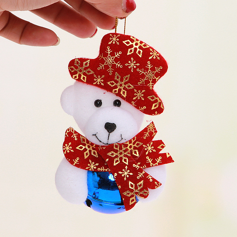 Where To Buy Christmas Decorations Year Round: 6pcs Christmas Santa Claus Snowman Decor Round Jingle